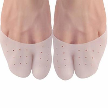 Toe Sleeve Metatarsal Pads, Ball of Foot Cushion Blisters Pads Metatarsal Insoles Gel Toe Bunion Sleeves for Men and Women