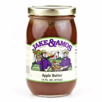 Jake & Amos Apple Butter With Spice 16 oz. (2 Jars)