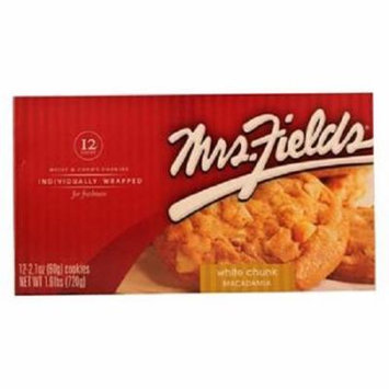 Product Of Mrs Fields, White Chunk Macadamia, Count 12 - Cookie & Cracker / Grab Varieties & Flavors