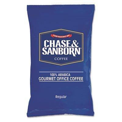 Coffee Regular 1 1/4 oz. Packets 42/Box by Chase and Sanborn