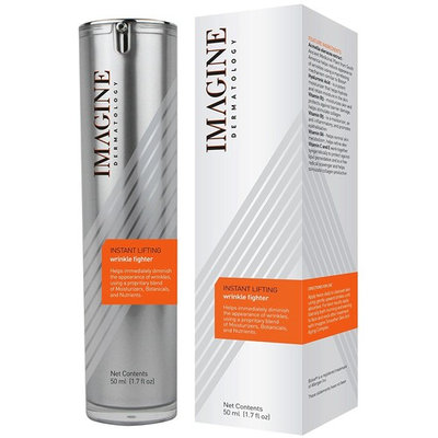 Imagine Instant Lifting Wrinkle Fighter 1.7 fl oz Anti-Wrinkle Powerful Anti-Aging Treatment Creamy Serum (50 ml) with Acmella Oleracea – Ancient Medicinal Plant from South America