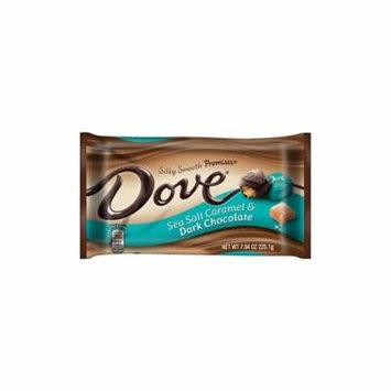 DOVE PROMISES Sea Salt Caramel and Dark Chocolate Candy 7.94-Ounce Bag, 3 Pack