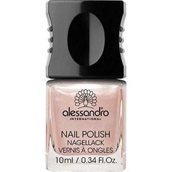 Alessandro Nail Polish, Shimmer Shell, .34 Fluid Ounce