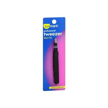 Sunmark Professional Slanted Tweezer - 1 ea., Pack of 6