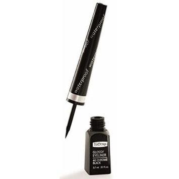 IsaDora Glossy Eyeliner Waterproof 40 Chrome Black for Sensitive Eyes 3.7 ml / .13 Fl. oz.