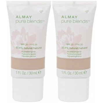 Almay Pure Blends Makeup, Naked, 1-Fluid Ounce by Revlon Consumer Products Corp.
