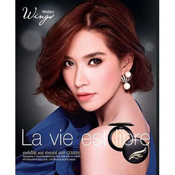 Powder Foundation Mistine Wings Extra Cover Super Face Makeup SPF 25 PA ++ (S3 Two tone skin)