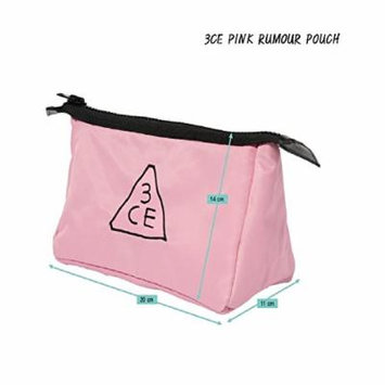 3CE Pink Rumour Pouch Makeup Bag Travel Cosmetic Bags K-beauty