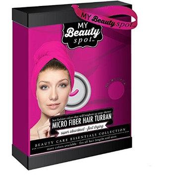 My Beauty Spot Microfiber Super Absorbent Fast Drying Hair Turban