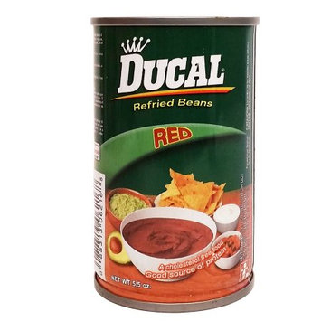 Ducal Red Beans 5.5 oz - Frijol Rojo (Pack of 36)