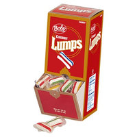 Bob's Hard Candy Lumps, Cherry Flavor, 42 Ounce Box, 12 Count