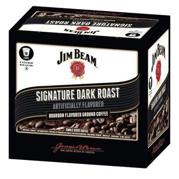 White Coffee Jim Beam Signature Dark Roast Single Serve 10 Count