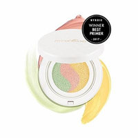 MIRENESSE Tone Correcting Primer - 10 Collagen Cushion Makeup Compact - WINNER BEST PRIMER - Colour Corrector for Oily & Dry Skin - Paraben Free & Cruelty Free - (15g) AUTHENTIC