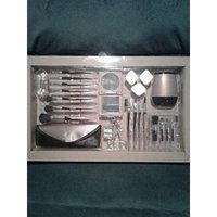 24 PC. COSMETIC BRUSH SET - BOXED