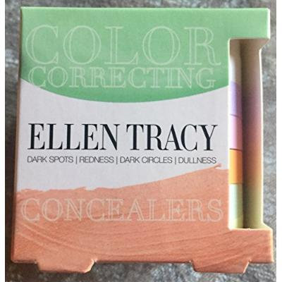 Ellen Tracy Color Correcting Concealers Set, 6 Shades Included.
