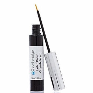 Courtenaige Eyelash Growth Serum - Grow Longer, Thicker, Darker, Fuller Lashes & Brows - Enhancing Eyelashes and Eyebrows - for Men & Women .30 oz