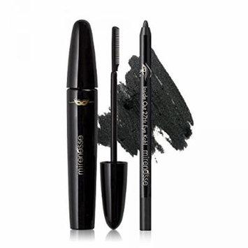 Mirenesse Cosmetics Comb On Liquid Lashes Black Mascara Kit