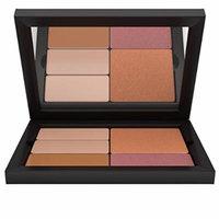 Contour/Highlight Blush Bronzer Makeup Palette: Light Complexion