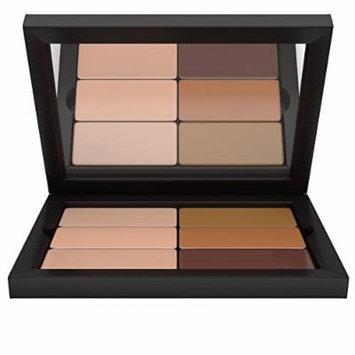 Contour/Highlight Makeup Palette: Global Skin Tones Concealer & Foundation