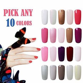 Gel Polish Set Blue Velvet Pick Any 10 Colors Soak off Gel Nail Polish Kit Cured with UV LED Nail Lamp Dryer