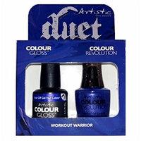 Artistic Nail Design - Duet Gel & Polish Duo - Workout Warrior - 15 mL / 0.5 oz each