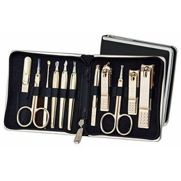 World No. 1 Three Seven (777) Travel Manicure Grooming Kit Nail Clipper Set Gift Set Premium Nail Clipper Set (TS-950BG, 11PCs), MADE IN KOREA, SINCE 1975.