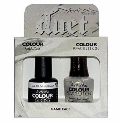 Artistic Nail Design - Duet Gel & Polish Duo - Game Face - 15 mL / 0.5 oz each