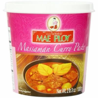Mae Ploy Thai Green-Massaman-Panang-Red-Yellow 5 Count Curry Chili Paste 14oz Jar