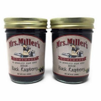 Mrs. Millers No Sugar Seedless Black Raspberry Jam - 2 pk.