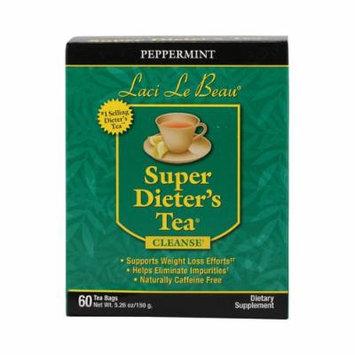 Laci Le Beau Super Dieter's Tea Peppermint - 60 Tea Bags
