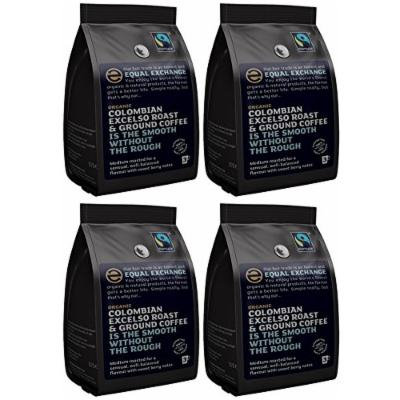 (4 PACK) - Equal Exchange - Org F/T Excelso Grd Coffee | 227g | 4 PACK BUNDLE