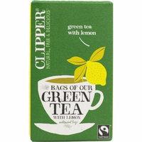 (10 PACK) - Clipper - Green Tea With Lemon | 25 Bag | 10 PACK BUNDLE