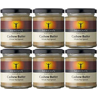 (6 PACK) - Meridian - Natural Cashew Butter | 170g | 6 PACK BUNDLE