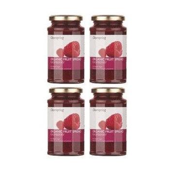 (4 PACK) - Clearspring - Org Fruit Spread Raspberry | 290g | 4 PACK BUNDLE