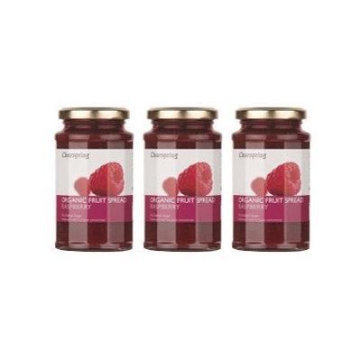 (3 PACK) - Clearspring - Org Fruit Spread Raspberry | 290g | 3 PACK BUNDLE