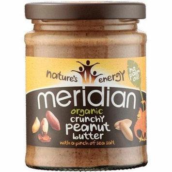 (3 PACK) - Meridian - Nat Crunchy Peanut Butter | 280g | 3 PACK BUNDLE