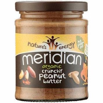 (6 PACK) - Meridian - Org Crunchy Peanut Butter | 280g | 6 PACK BUNDLE
