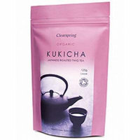 (10 PACK) - Clearspring - Organic Kukicha Twig Tea | 125g | 10 PACK BUNDLE