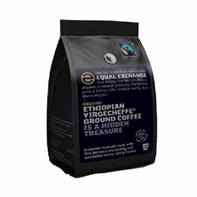 (10 PACK) - Equal/Ex Roast & Ground Coffee - Ethiopian Yirgacheffe| 227 g |10 PACK - SUPER SAVER - SAVE MONEY