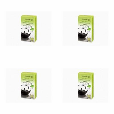 (4 PACK) - Clearspring Mint Green Tea| 40 g |4 PACK - SUPER SAVER - SAVE MONEY