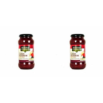 (2 PACK) - Seeds/Ch Bolognese Pasta Sauce| 500 g |2 PACK - SUPER SAVER - SAVE MONEY