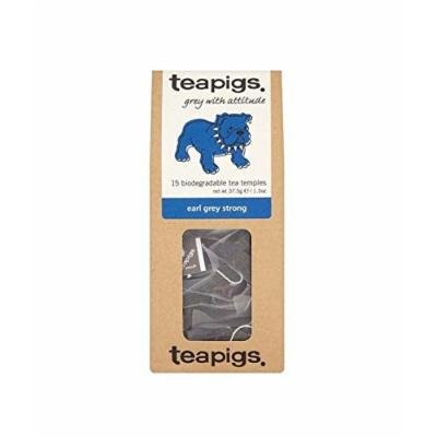 (12 PACK) - Teapigs Earl Grey Strong Tea Temples| 15 Bags |12 PACK - SUPER SAVER - SAVE MONEY