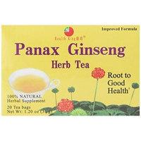 Health King Panax Ginseng Herb Tea, Teabags, 20 Count Box by Health King