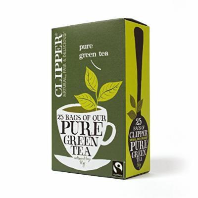 Clipper - Fairtrade Pure Green Teabags   25 Bag
