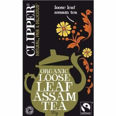 (12 PACK) - Clipper - Organic Assam Tea | 125g | 12 PACK BUNDLE