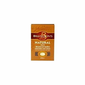 (12 PACK) - Billingtons Dark Muscovado Sugar  500 g  12 PACK - SUPER SAVER - SAVE MONEY
