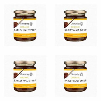 (4 PACK) - Clearspring Barley Malt Syrup - Organic| 330 g |4 PACK - SUPER SAVER - SAVE MONEY