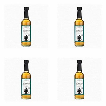(4 PACK) - Clearspring Organic Brown Rice Vinegar| 500 ml |4 PACK - SUPER SAVER - SAVE MONEY