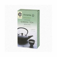 (8 PACK) - Clearspring Sencha Green Tea| 20 Bags |8 PACK - SUPER SAVER - SAVE MONEY