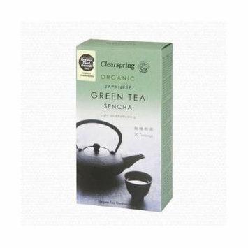 (8 PACK) - Clearspring Sencha Green Tea  20 Bags  8 PACK - SUPER SAVER - SAVE MONEY